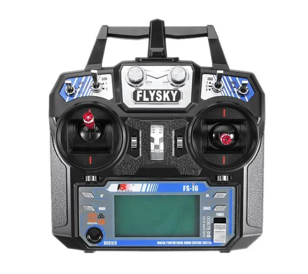 FlySky FS-i6 2.4G FS-iA6B レシーバ付き 6CH AFHDS RCトランスミッタ - モード1(右ハンドスロットル)_画像3