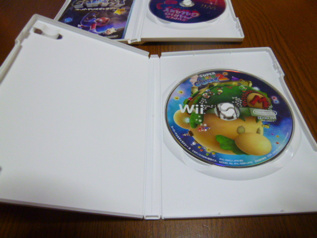 H44【送料無料】Wii ソフト セット Wii ソフト セット スーパーマリオギャラクシー1 2 (クリーニング 動作確認済)まとめ