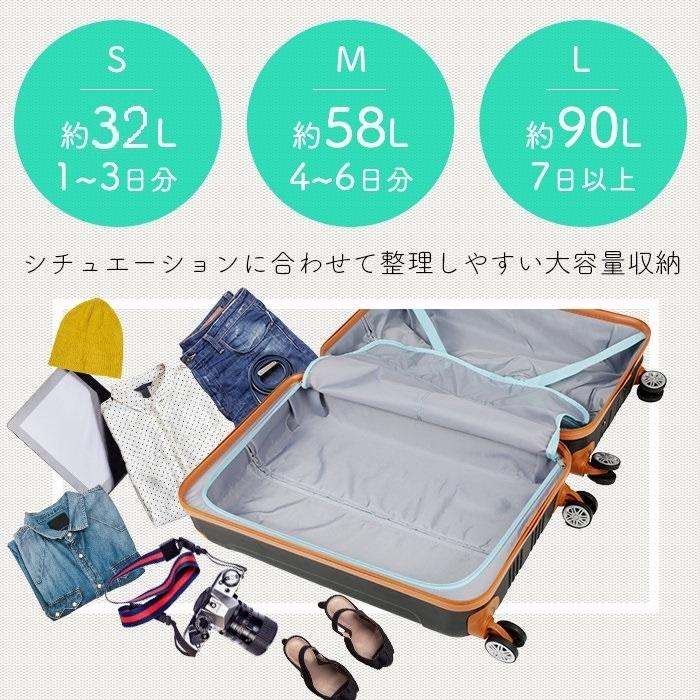 ムーク◆超軽量 スーツケース 機内持ち込み キャリーケース キャリーバック 小型 かわいい Sサイズ ネイビー_画像8