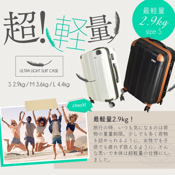 ムーク◆超軽量 スーツケース 機内持ち込み キャリーケース キャリーバック 小型 かわいい Sサイズ ネイビー_画像4