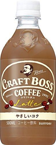 限定1点♪サントリー コーヒー クラフトボス ラテ 500ml × 24本_画像1