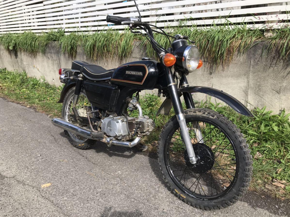「貴重 実働 ホンダ cd90 ベンリイ バイク ヴィンテージ honda 車両 車体」の画像1