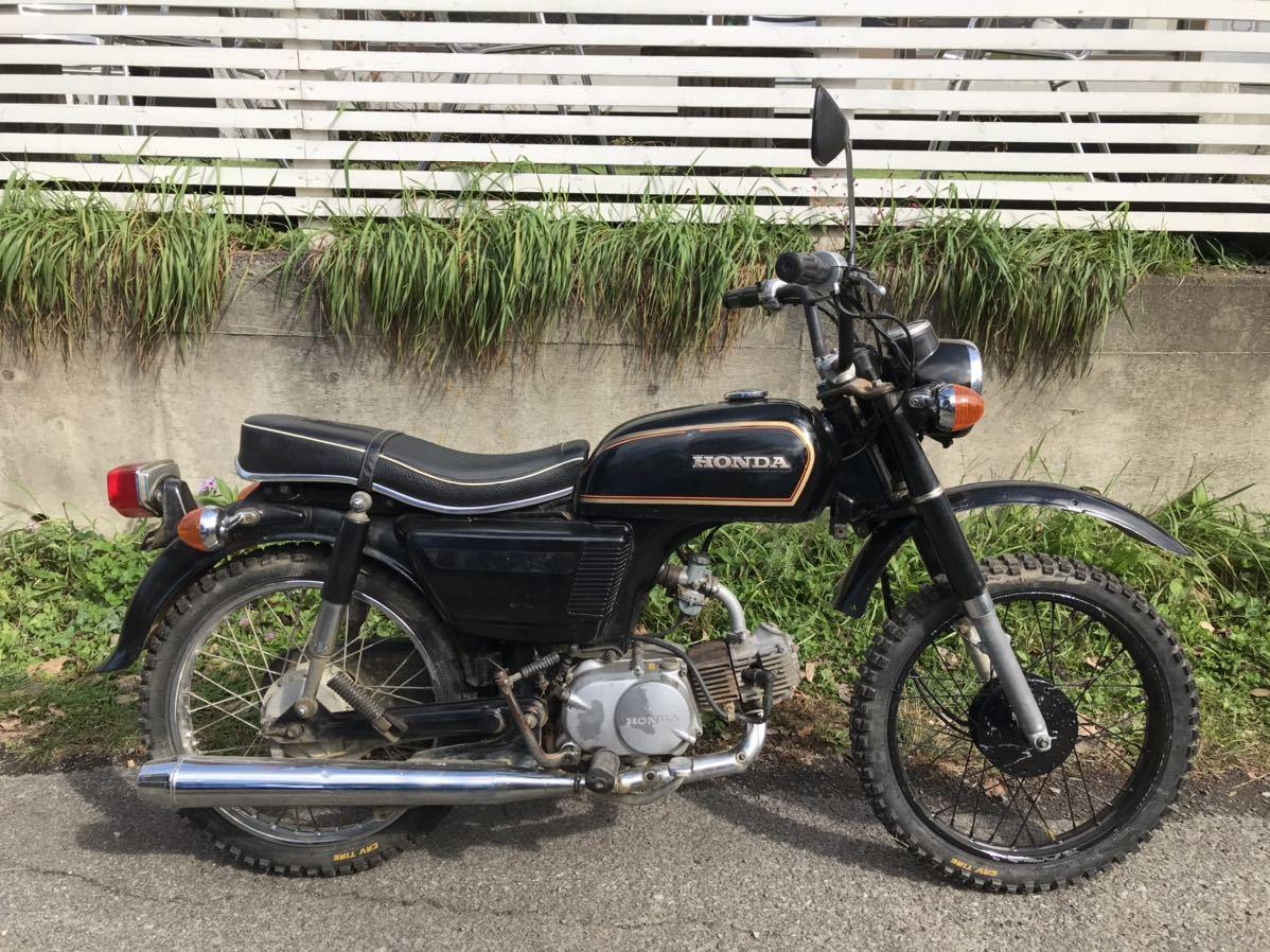 「貴重 実働 ホンダ cd90 ベンリイ バイク ヴィンテージ honda 車両 車体」の画像2