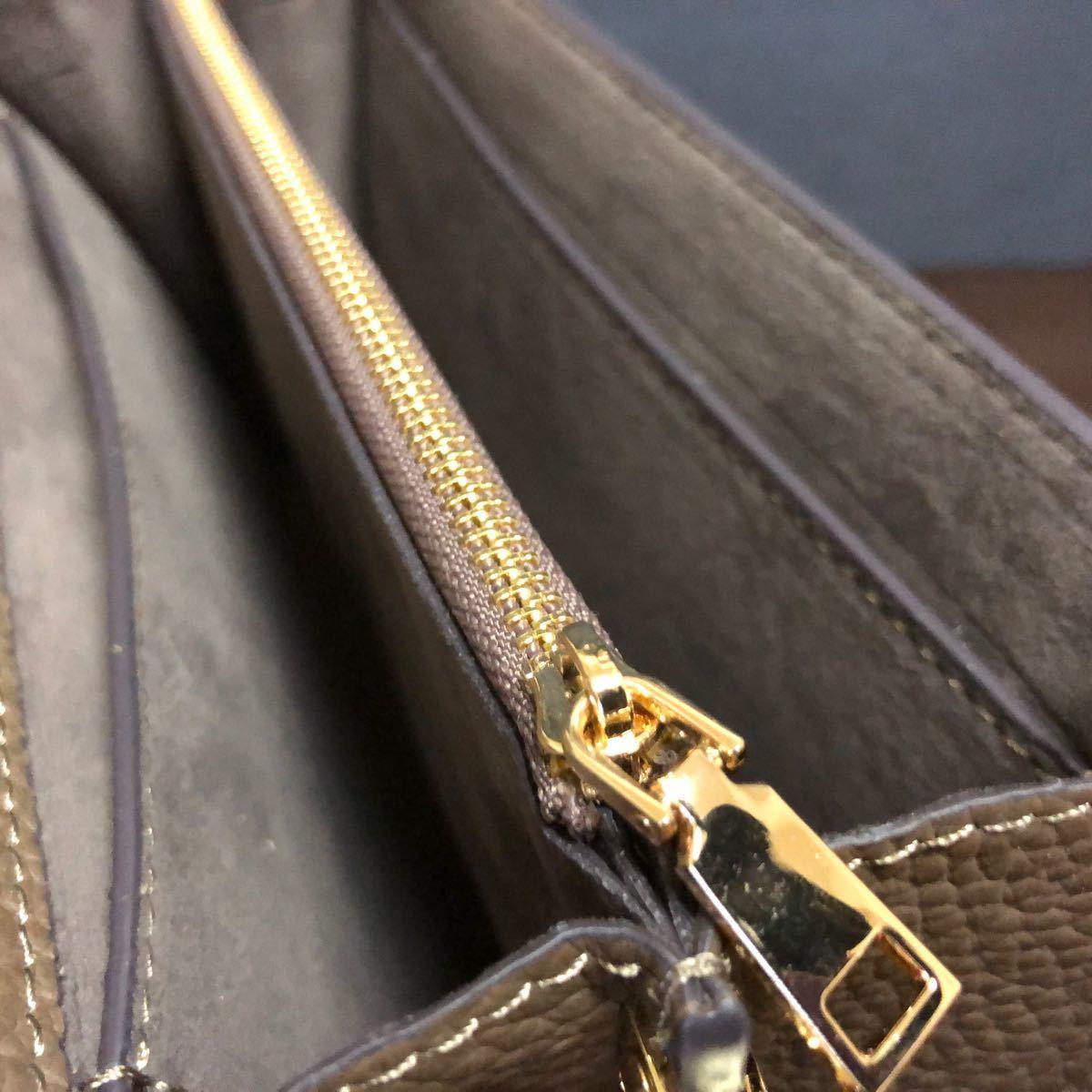 最高級 本革 トゴレザー 長財布 バッグ クラッチバッグ ハンドバッグ 3way