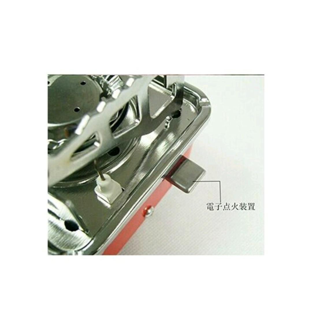 アウトドア ミニ ガスバーナー カセットガス対応 ストーブ コンロ 携帯