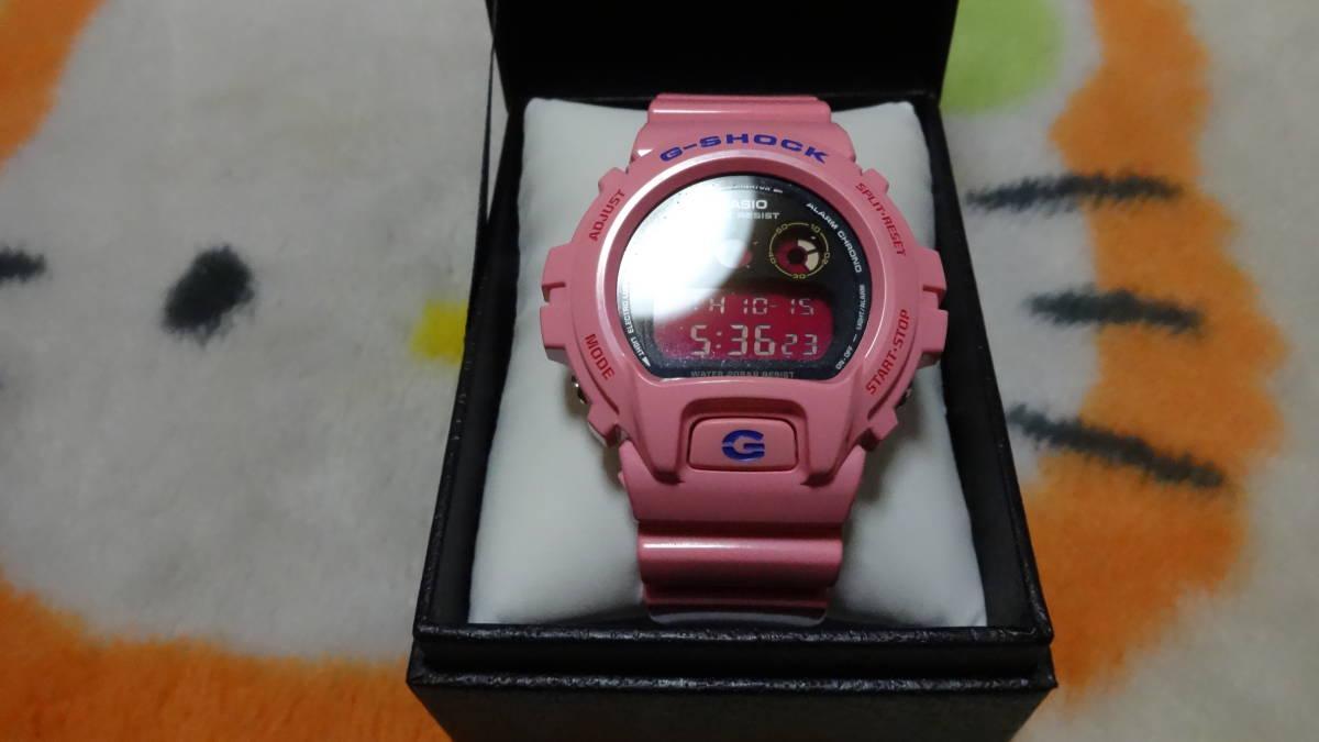 CASIO 腕時計 G-SHOCK ジーショック クレイジーカラー ピンク