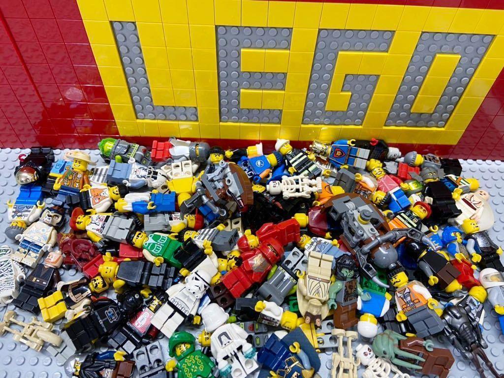 ☆100体セット☆ レゴ ミニフィグ 大量 スターウォーズ お城シリーズ シティ など ( LEGO 人形_画像2