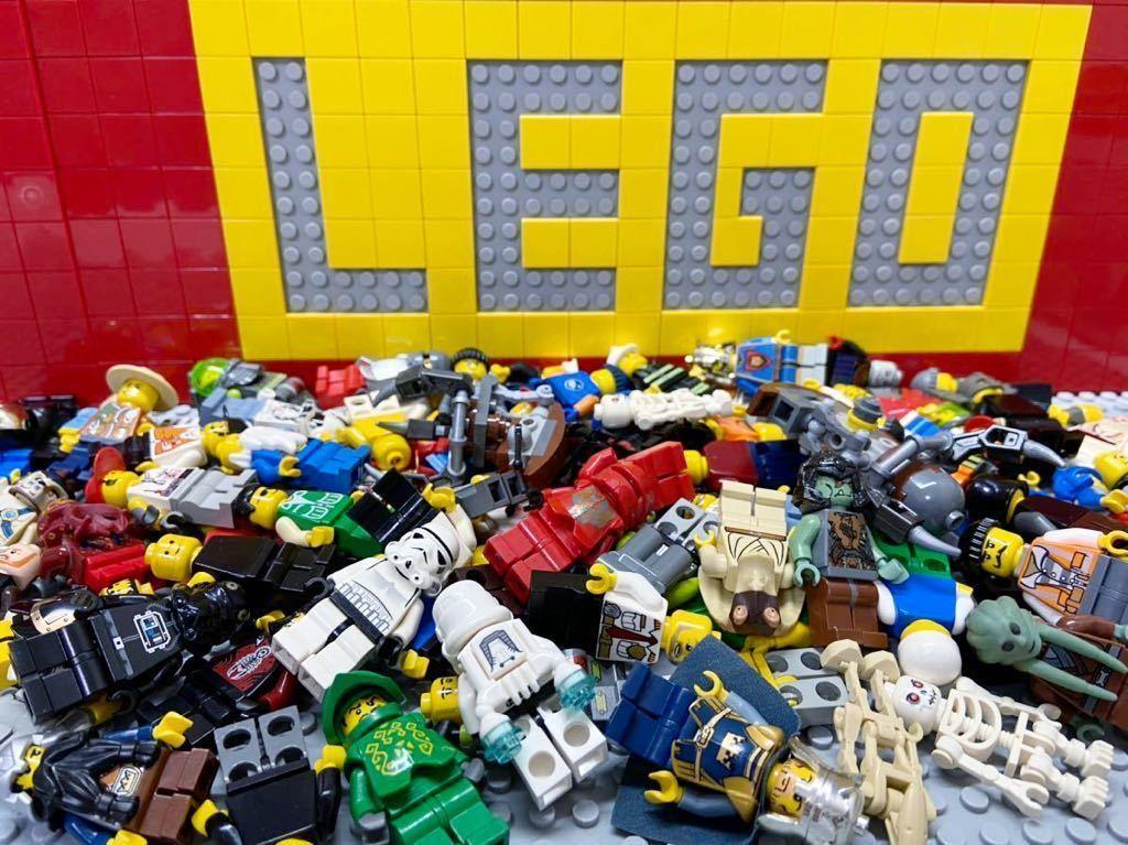 ☆100体セット☆ レゴ ミニフィグ 大量 スターウォーズ お城シリーズ シティ など ( LEGO 人形_画像1