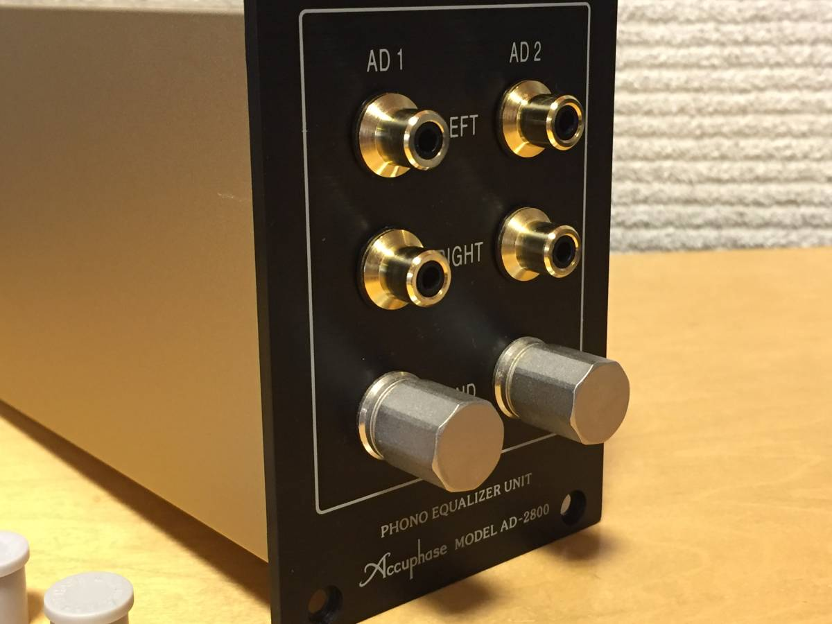 *Accuphase Accuphase AD-2800 phono equalizer work properly super-beauty goods! with guarantee cheap start!