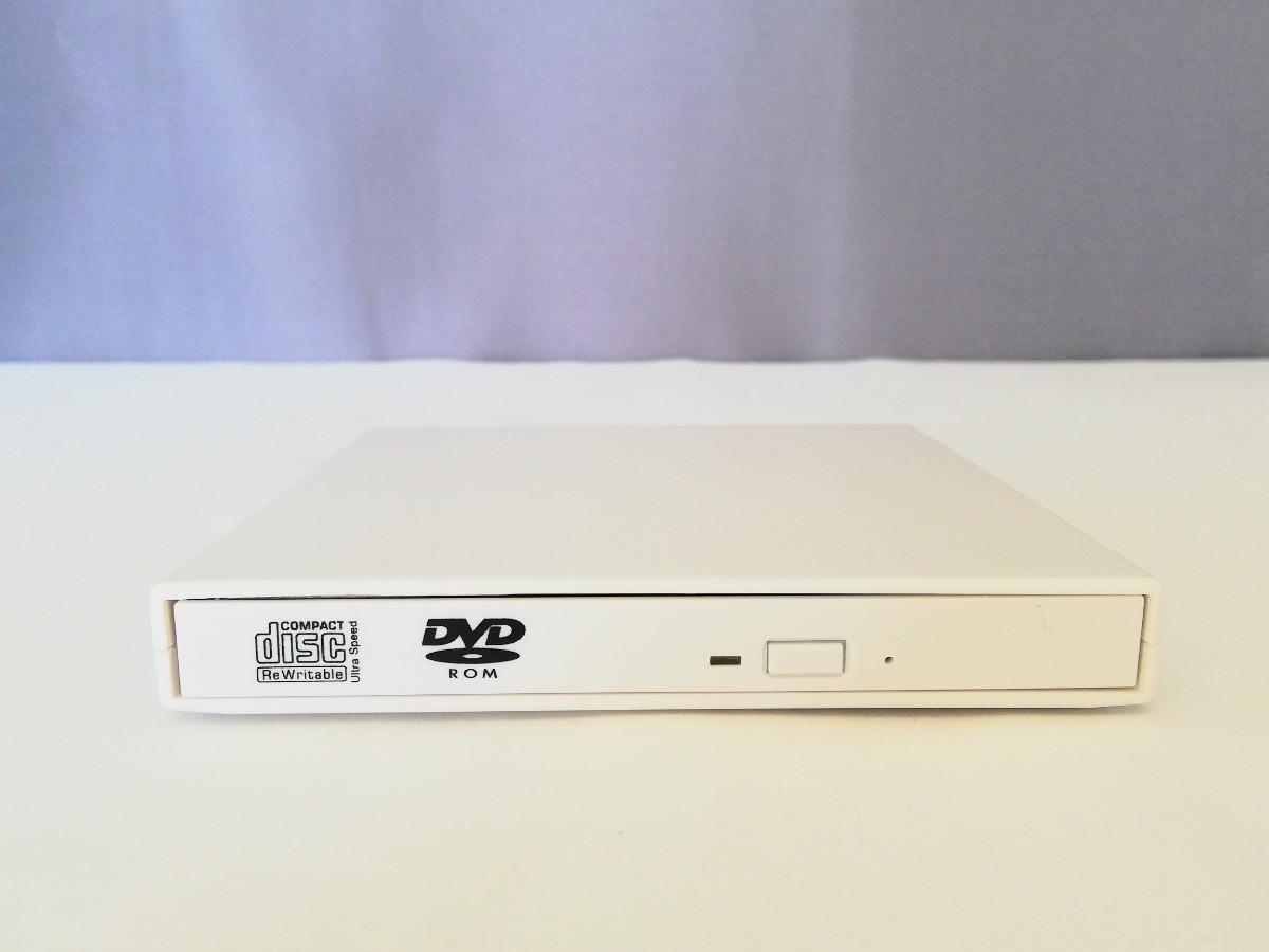 【美品】USB2.0 外付け DVDドライブ