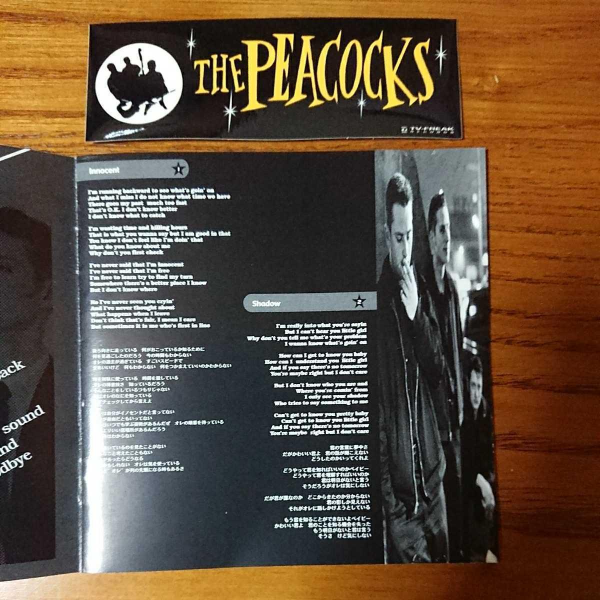 THE-PEACOCKSザ・ピーコックスCD/ロカビリー・ネオロカビリー・サイコビリー・ジャズ・パンクロック・ロックンロール_画像5