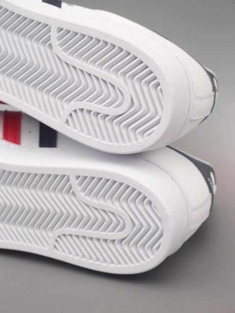 新品 限定カラー 20年 adidas スーパースター Ⅱ 白xトリコロール 28,5cm_画像7