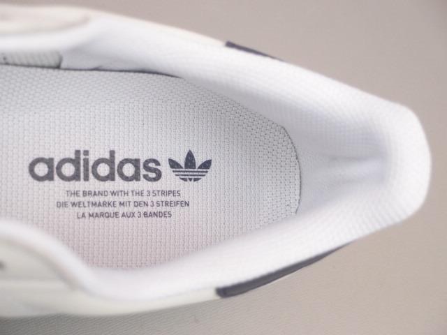 新品 限定カラー 20年 adidas スーパースター Ⅱ 白xトリコロール 28,5cm_画像8