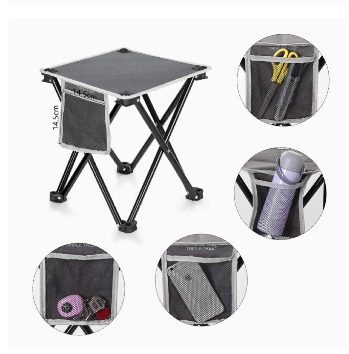 アウトドアチェア 折りたたみ 椅子2脚 【耐荷重180kg】