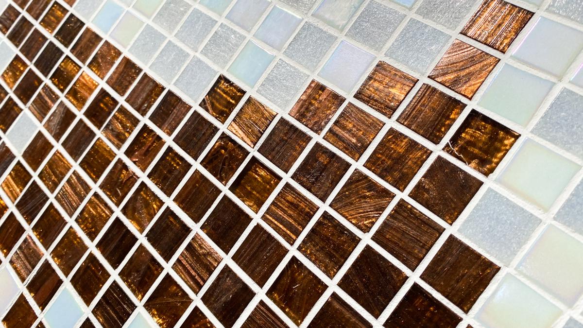 タイル絵 大きなタペストリー ガラスタイル 横2320mm 縦1040mm 光の具合が大変美しいタイルです。_画像4