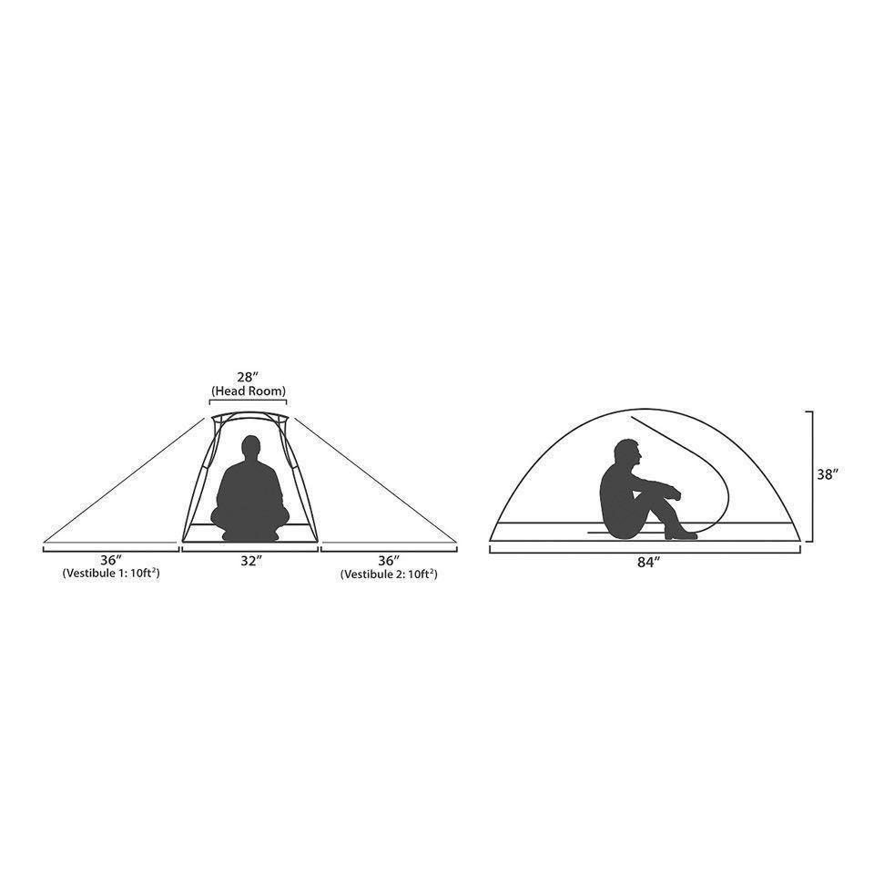 カーボンポール仕様【米軍採用個人用テント】LITEFIGHTER TENT 1 個人用シェルターシステム *マルチカム/1人用/未使用品
