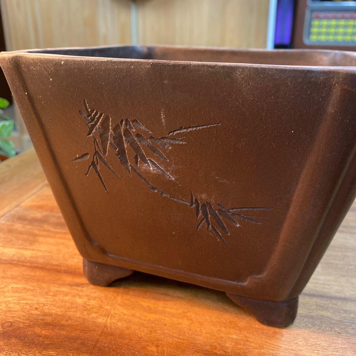 銅器の 盆栽器_画像4