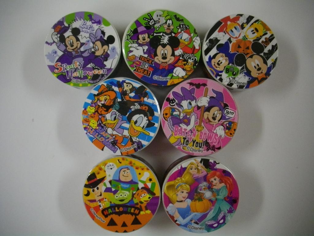 ディズニー ハロウィン オールスター シリーズ マスキングテープ 7種セット _画像1