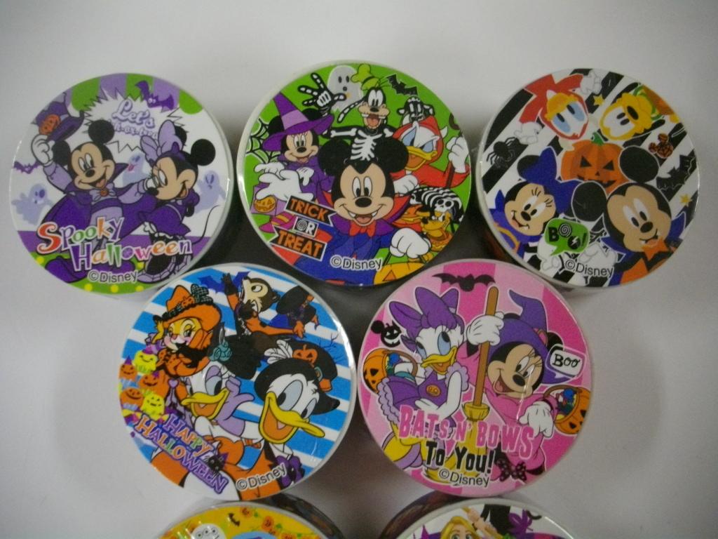 ディズニー ハロウィン オールスター シリーズ マスキングテープ 7種セット _画像3