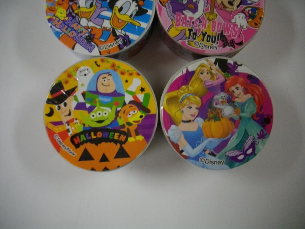 ディズニー ハロウィン オールスター シリーズ マスキングテープ 7種セット _画像4