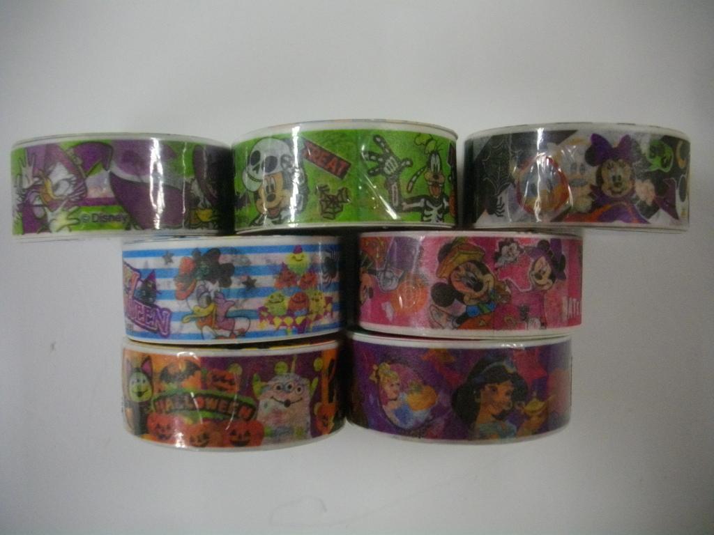 ディズニー ハロウィン オールスター シリーズ マスキングテープ 7種セット _画像2