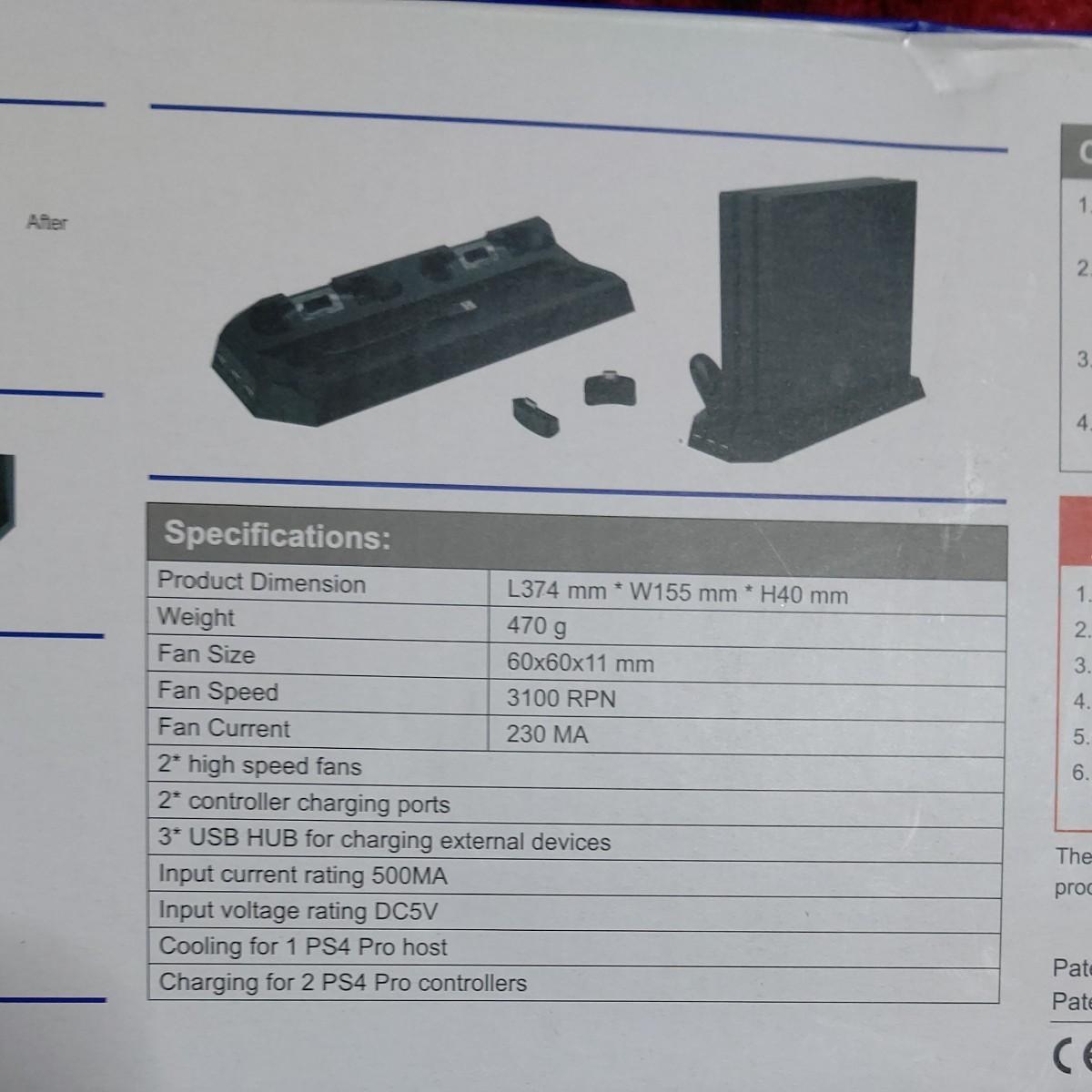 PS4 PS4pro スタンド