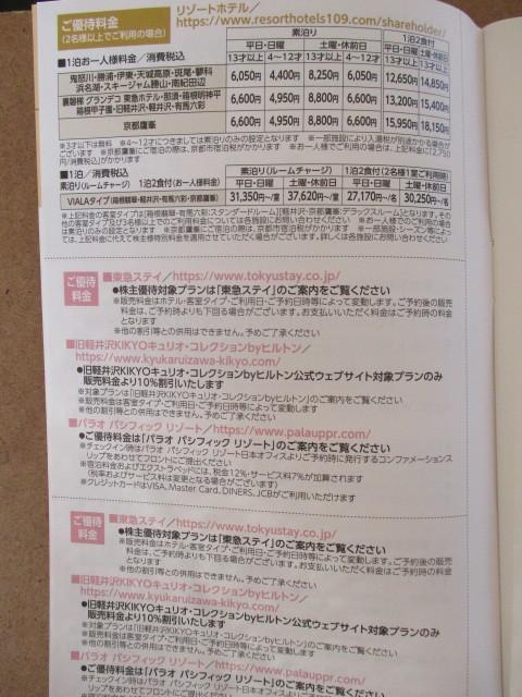 東急不動産ホールディングス 株主優待券1冊_画像4