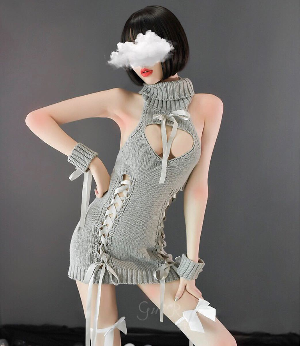 タイトワンピース エロかわ キャバ嬢 コスプレ衣装 ボディコン 小悪魔 sexy