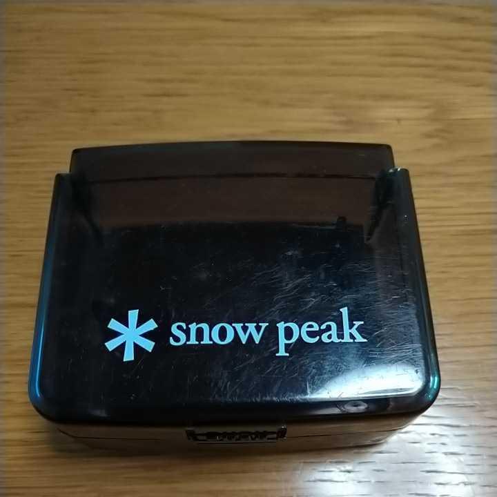 廃盤 スノーピーク snowpeak ギガパワーマイクロマックス シングルバーナー  SOTO PRIMUS 燃焼良好