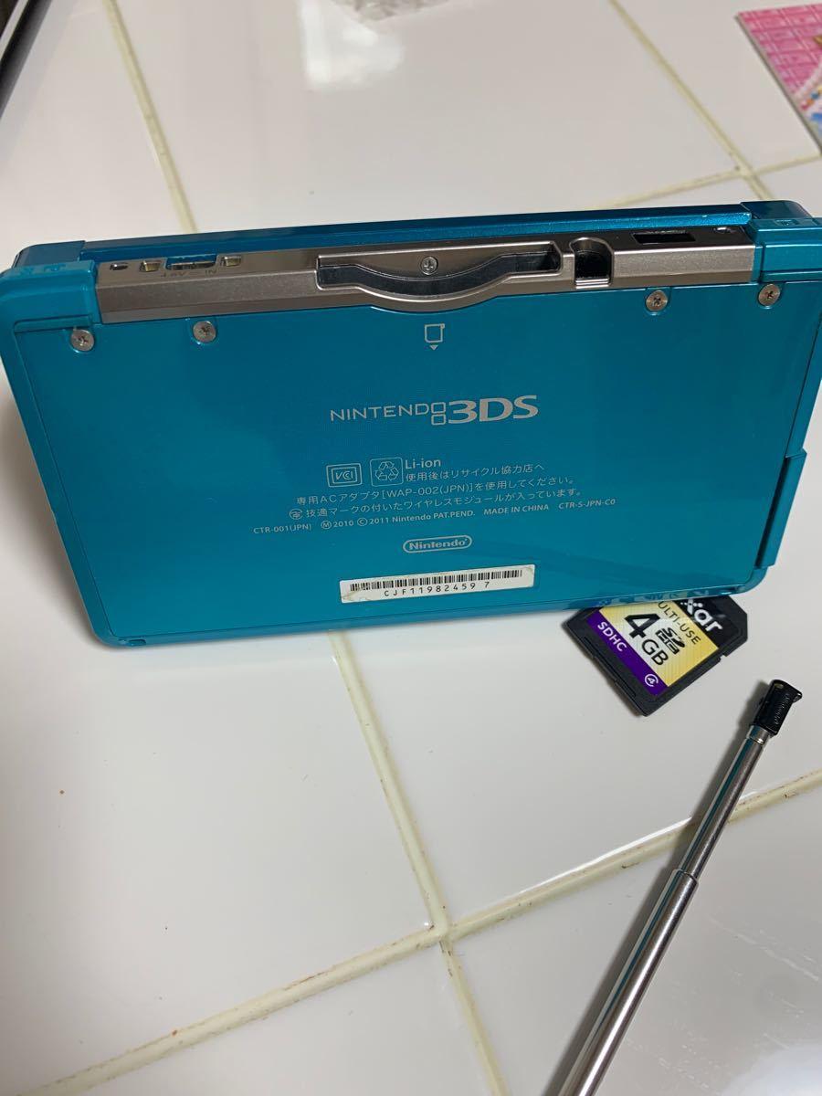 ニンテンドーゲーム機 3DS  メモリーカード 3DS本体 Nintendo