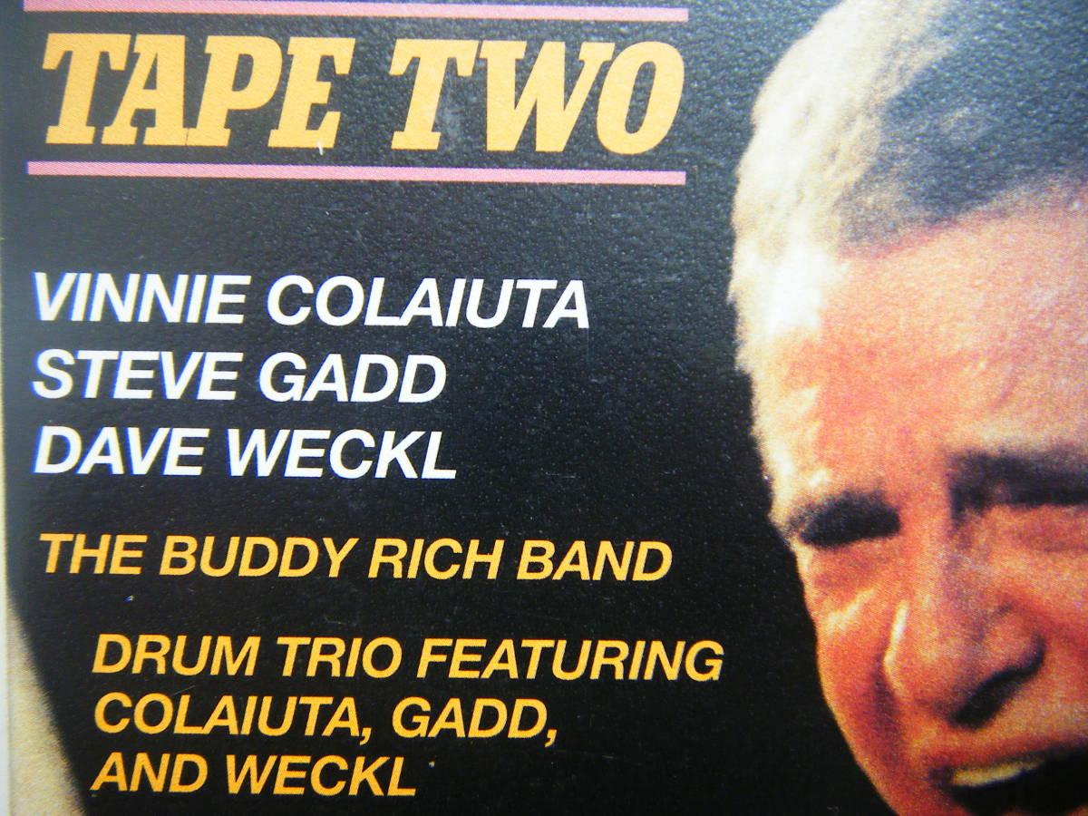 即決 BUDDY RICH MEMORIAL SCHOLARSHIP CONCERTの中古VHSビデオ・輸入版2本 / STEVE GADD, DAVE WECKL他 / 詳細は写真4~10をご参照_画像5