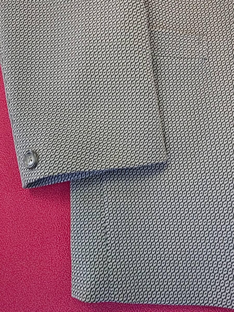 新品 SALE!! 特別価格!! 送料無料 l'garage マオカラースーツ スリータック LLサイズ ゆったり パーティー 結婚式 ステージ衣装 4525-1 _画像7
