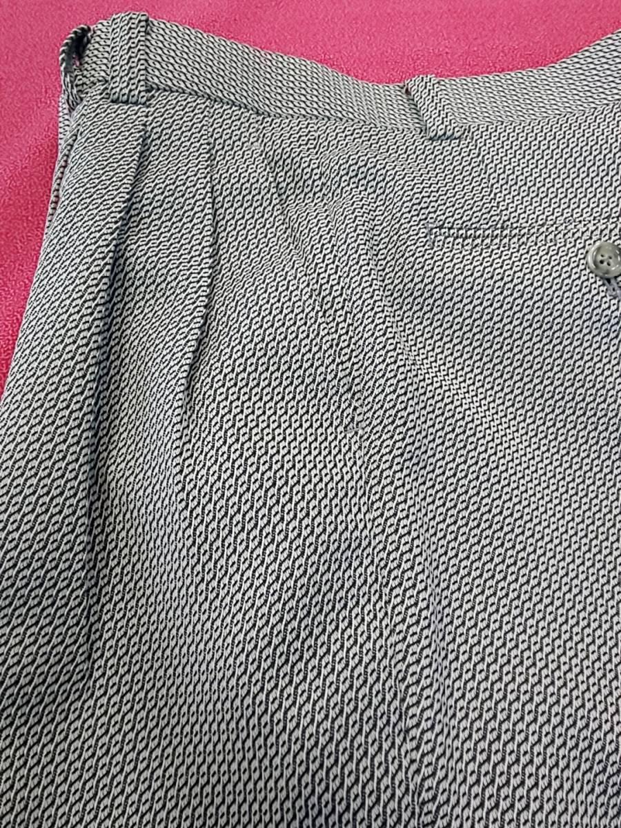 新品 SALE!! 特別価格!! 送料無料 l'garage マオカラースーツ スリータック LLサイズ ゆったり パーティー 結婚式 ステージ衣装 4525-1 _画像9