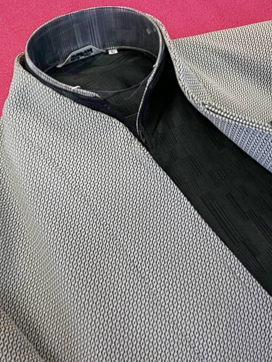 新品 SALE!! 特別価格!! 送料無料 l'garage マオカラースーツ スリータック LLサイズ ゆったり パーティー 結婚式 ステージ衣装 4525-1 _画像3