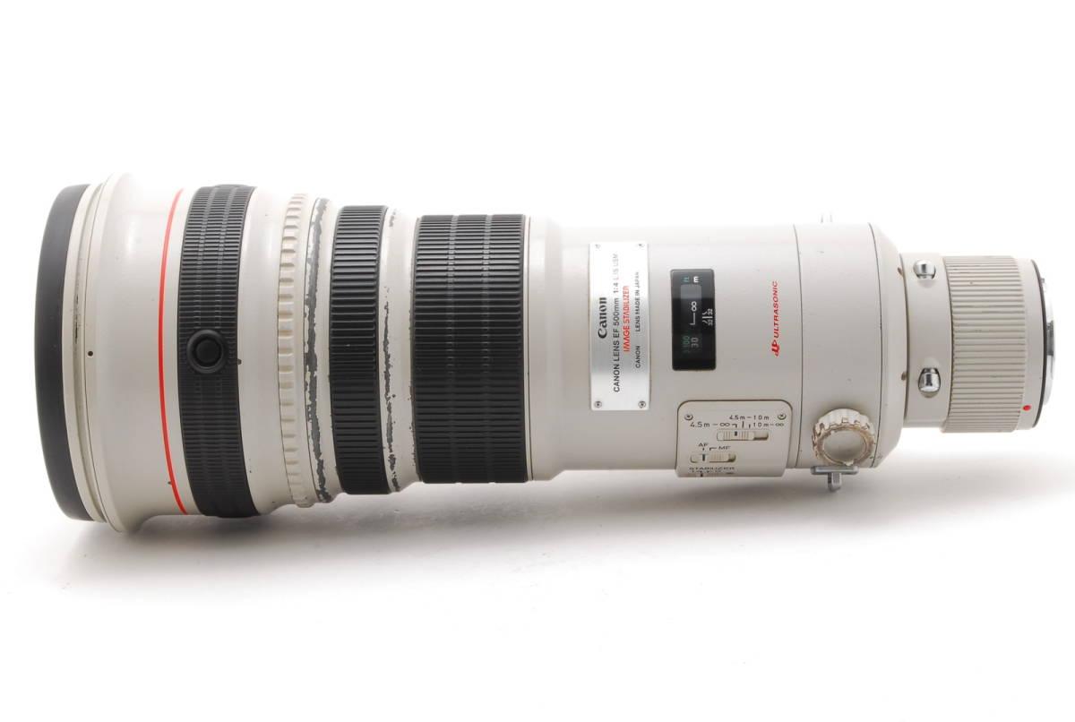 [B品] Canon EF 500mm F4 L IS USM*純正フード*10375_画像7