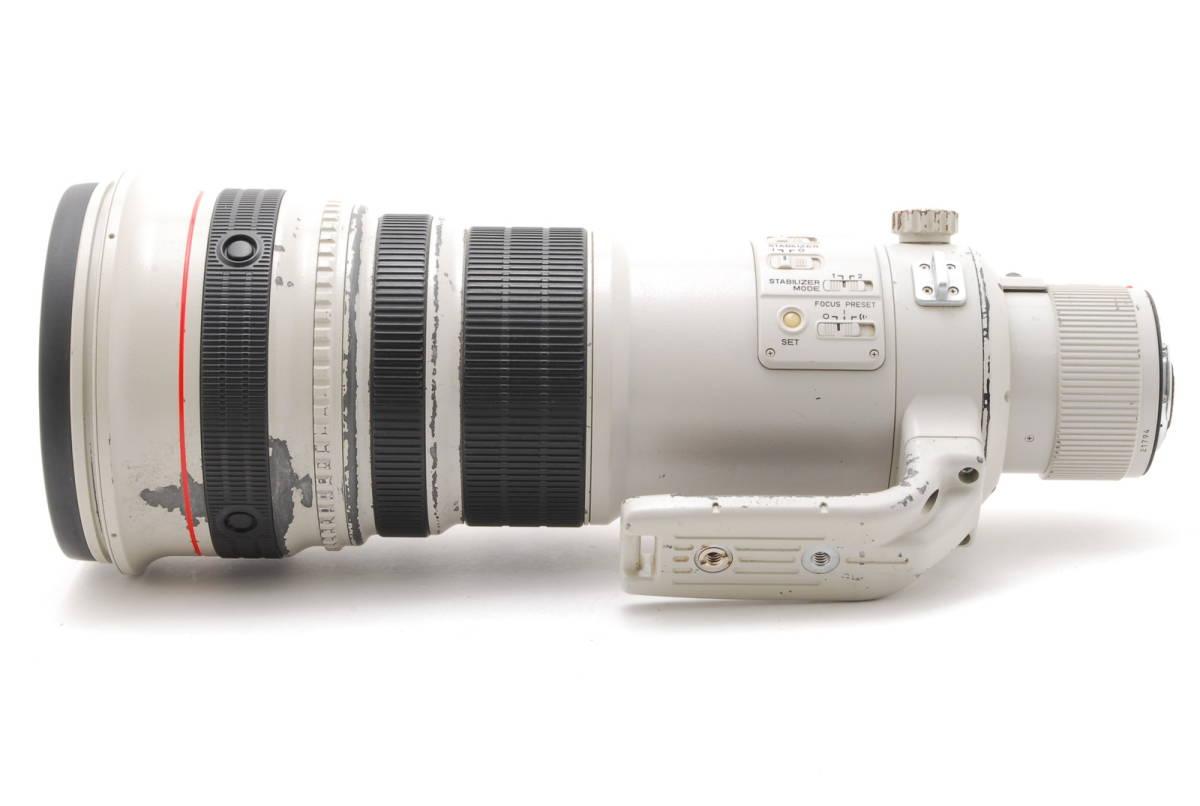 [B品] Canon EF 500mm F4 L IS USM*純正フード*10375_画像6