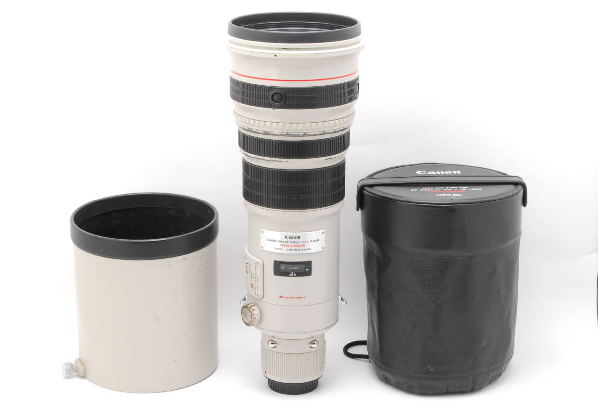 [B品] Canon EF 500mm F4 L IS USM*純正フード*10375_画像1