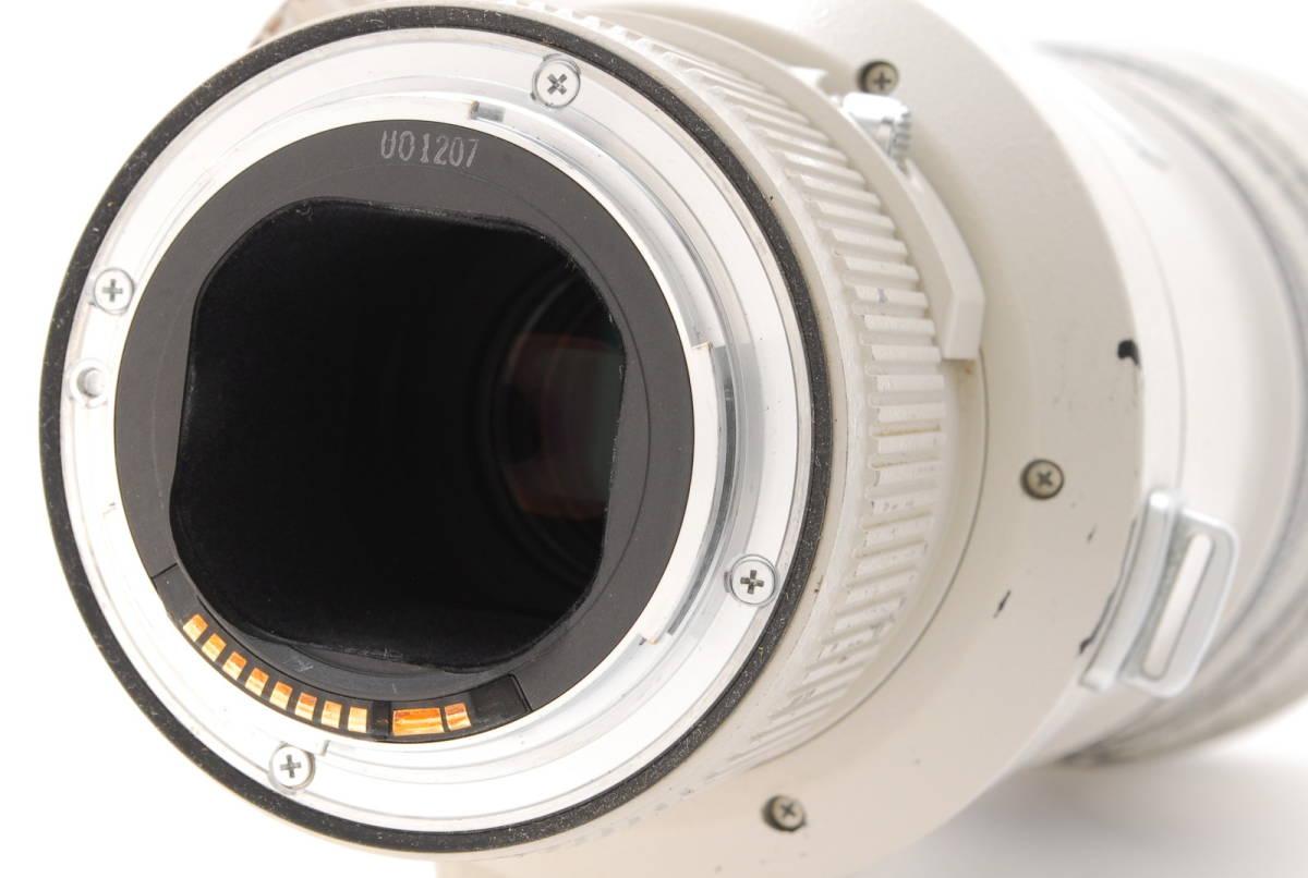 [B品] Canon EF 500mm F4 L IS USM*純正フード*10375_画像4