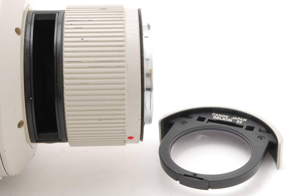 [B品] Canon EF 500mm F4 L IS USM*純正フード*10375_画像9