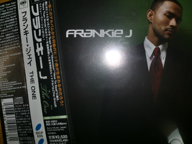 美品日本盤 Frankie J [The One][R&B] baby bash lil wayne flip ugk bun b outkast kanye west t-pain rick ross dj khaled nicki minaj