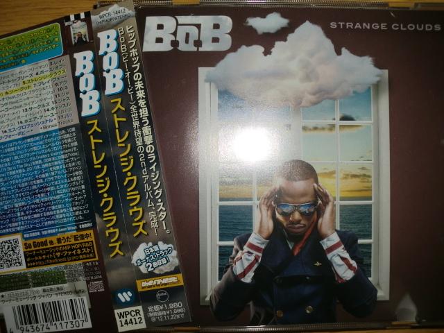 美品日本盤 B.O.B [Strange Clouds][South] morgan freeman lil wayne chris brown t.i. nicki minal trey songz playboy tre