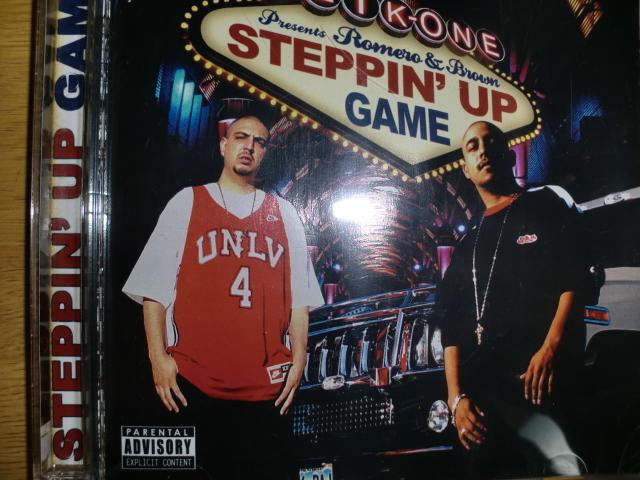 良品 Clik-One presents Romero & Brown [Steppin' Up Game][チカーノ] baby bash s.p.m. kurupt fade dogg don cisco lil mob g-money