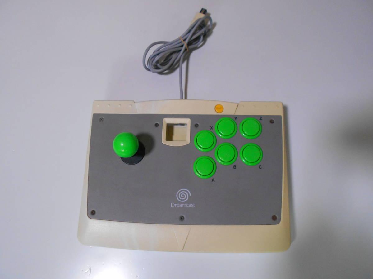 ドリームキャスト アーケードスティック HKT-7300 【清掃動作品、起動確認済み】 DC SEGA Dreamcast コントローラー b_画像1