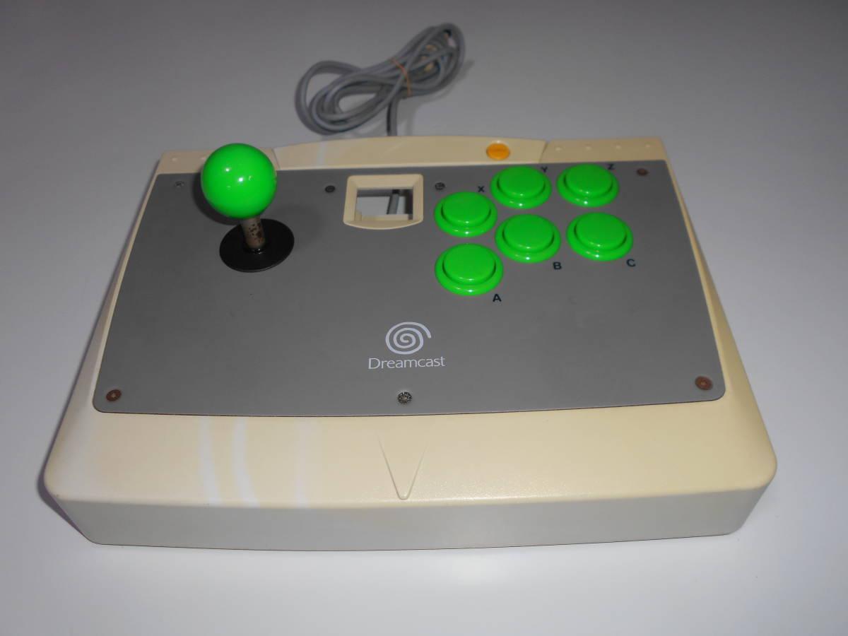 ドリームキャスト アーケードスティック HKT-7300 【清掃動作品、起動確認済み】 DC SEGA Dreamcast コントローラー b_画像2