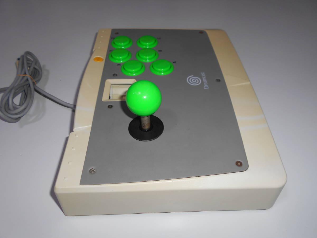 ドリームキャスト アーケードスティック HKT-7300 【清掃動作品、起動確認済み】 DC SEGA Dreamcast コントローラー b_画像3