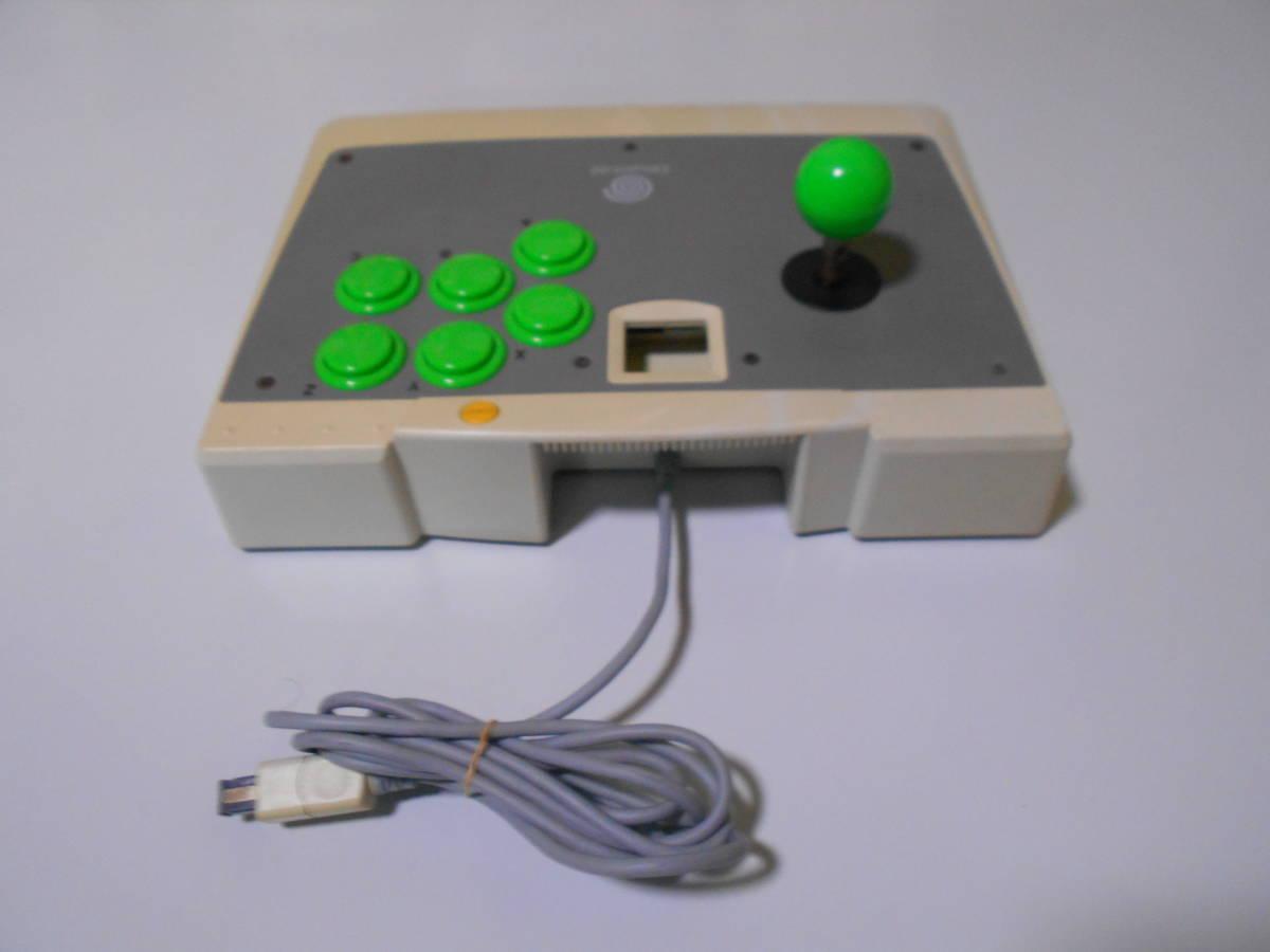 ドリームキャスト アーケードスティック HKT-7300 【清掃動作品、起動確認済み】 DC SEGA Dreamcast コントローラー b_画像4