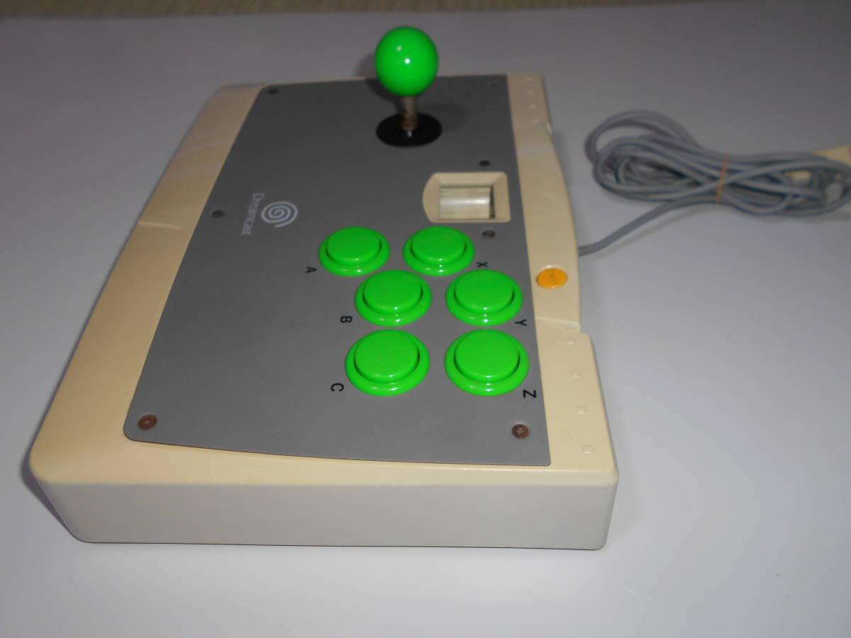 ドリームキャスト アーケードスティック HKT-7300 【清掃動作品、起動確認済み】 DC SEGA Dreamcast コントローラー b_画像5