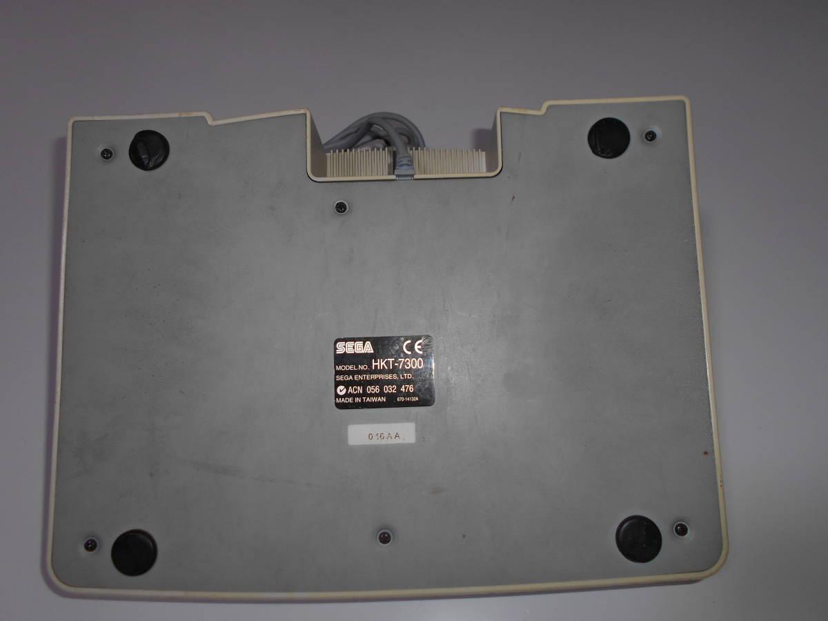 ドリームキャスト アーケードスティック HKT-7300 【清掃動作品、起動確認済み】 DC SEGA Dreamcast コントローラー b_画像6