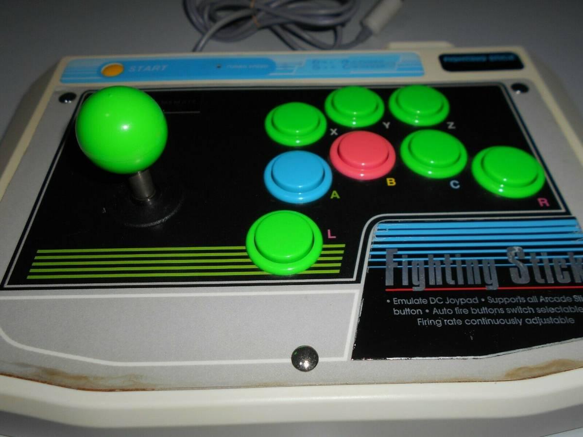動作確認済 ファイティングスティック DSCV-9913 DC GAMEMATE ゲームメイト Fighting stick Dreamcast ジョイスティック ドリームキャストb