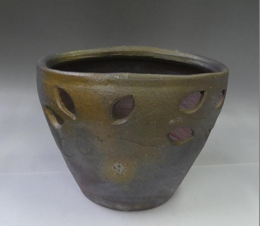 備前焼 大鉢 花器 花入れ 花瓶_画像1